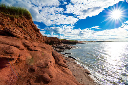 sunrise at prince edward island