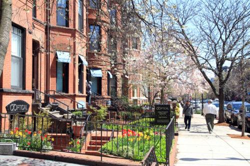 Newbury boston lifestyle and street