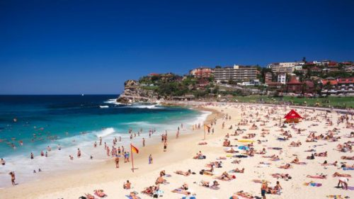 Sydney best beaches with huge visitors