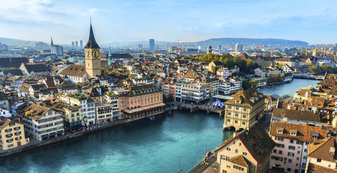 Zurich The Biggest City at Switzerland