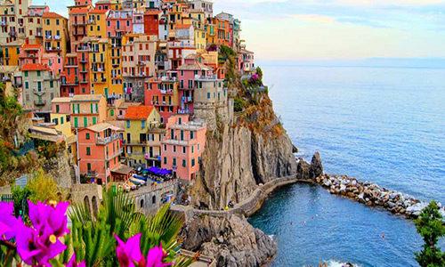 amalfi coast awesome building