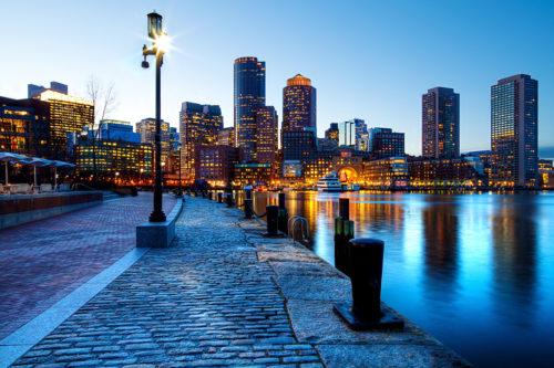 best skyline at boston so romantic