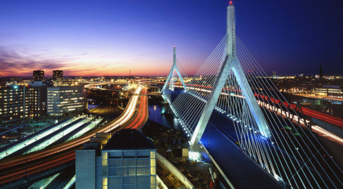 Boston Wonderful City in USA
