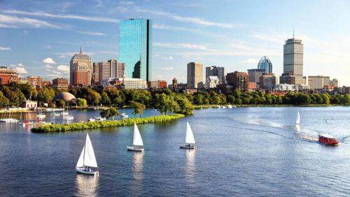 boston sail boats attractive activity