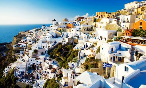 santorini best world destination