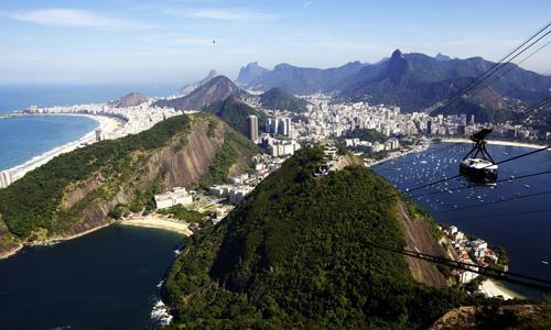 whole area of Rio de Janeiro