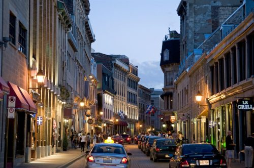 old montreal city