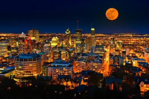 wonderful night at montreal canada