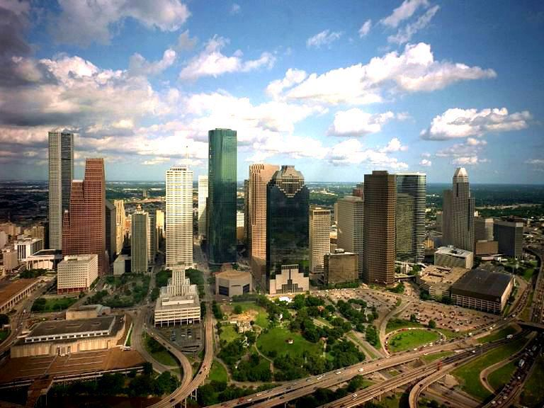 Houston city texas usa gets ready for Winter vacation spots in texas