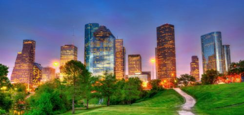 Houston with fresh atmosphere