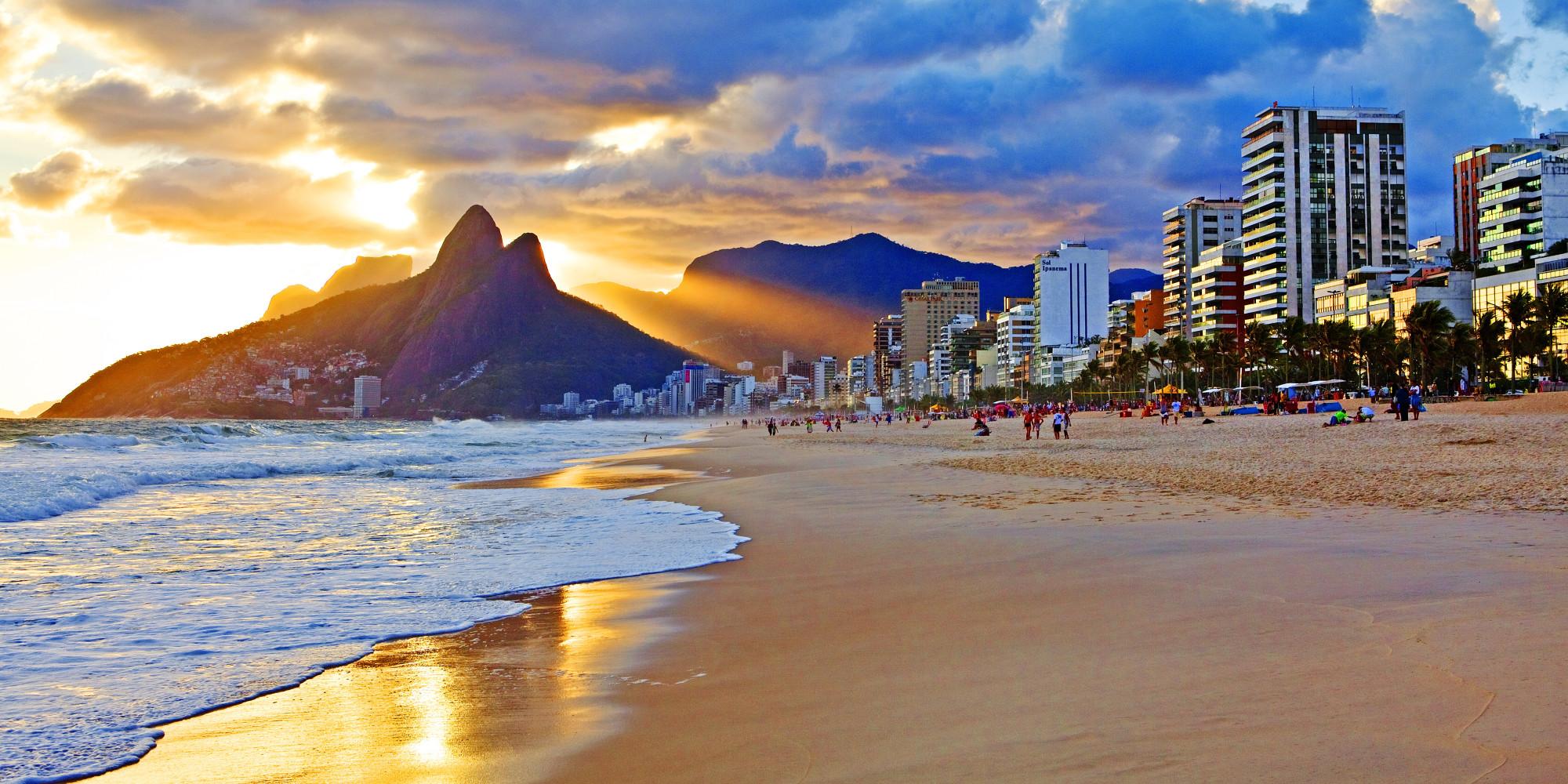 Schwingen in Rio De Janeiro