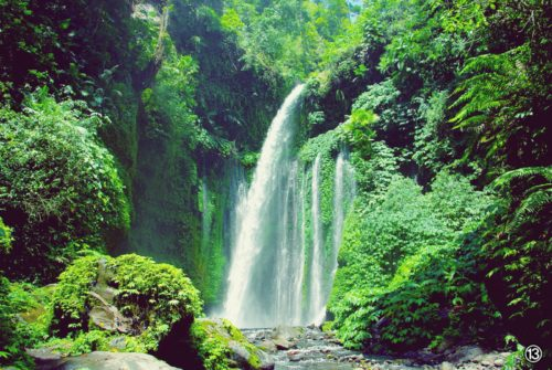 Sendang Gile waterfalls