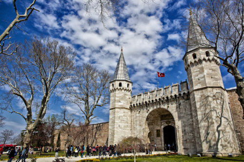 Topkapi Palace from outside