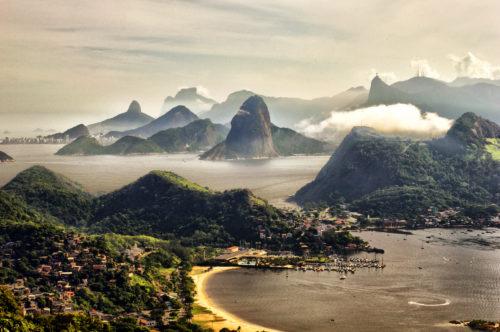 amazing scenery at Rio de Janeiro