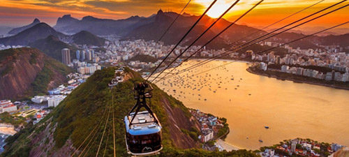 chairlift at Rio de Janeiro