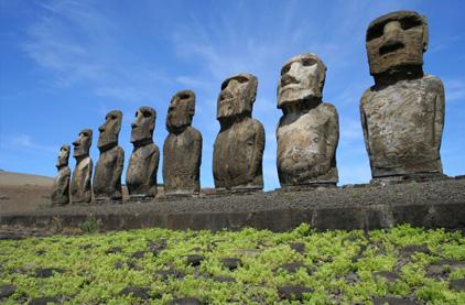 easter island world heritage