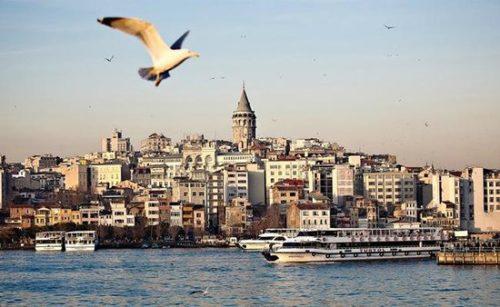 istanbul scenery in morning