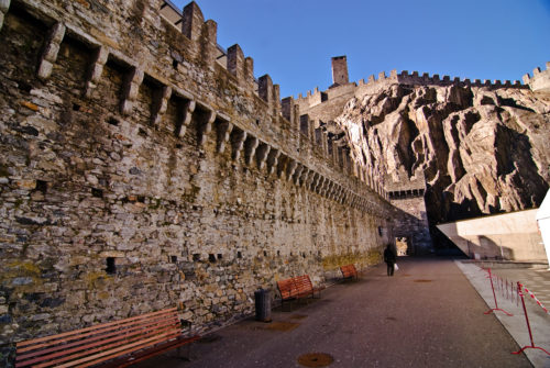 The three castles, the defensive wall and the ramparts of Bellinzone appear on the UNESCO world Heritage List since 2000. The registration of a cultural or natural site on this list is evidence of its outstanding universal value so as to ensure its protection for mankind