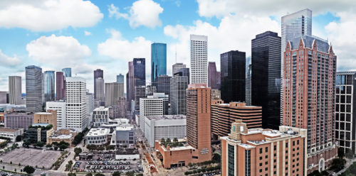 the whole area of Houston City