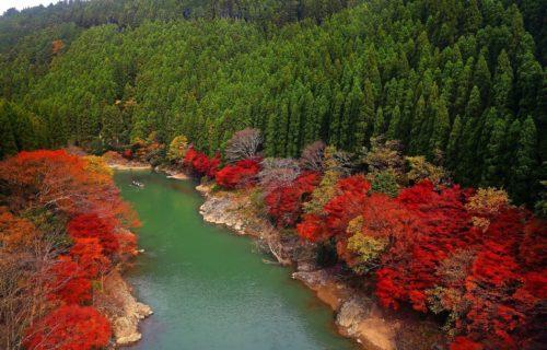 arashiyama-lake