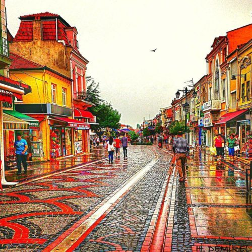 edirne-saraclar-caddesi-so-colorful