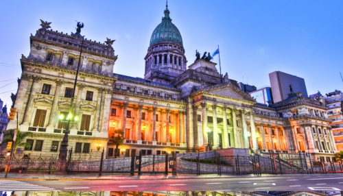 Buenos aires historical buildin