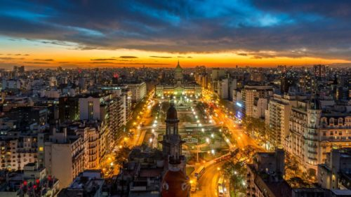Buenos aires in night