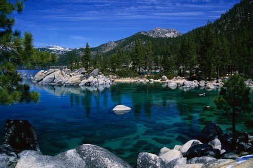 Shore of Lake Tahoe