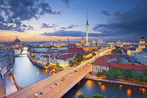 Berlin beautiful road