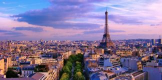 Best scenery at paris