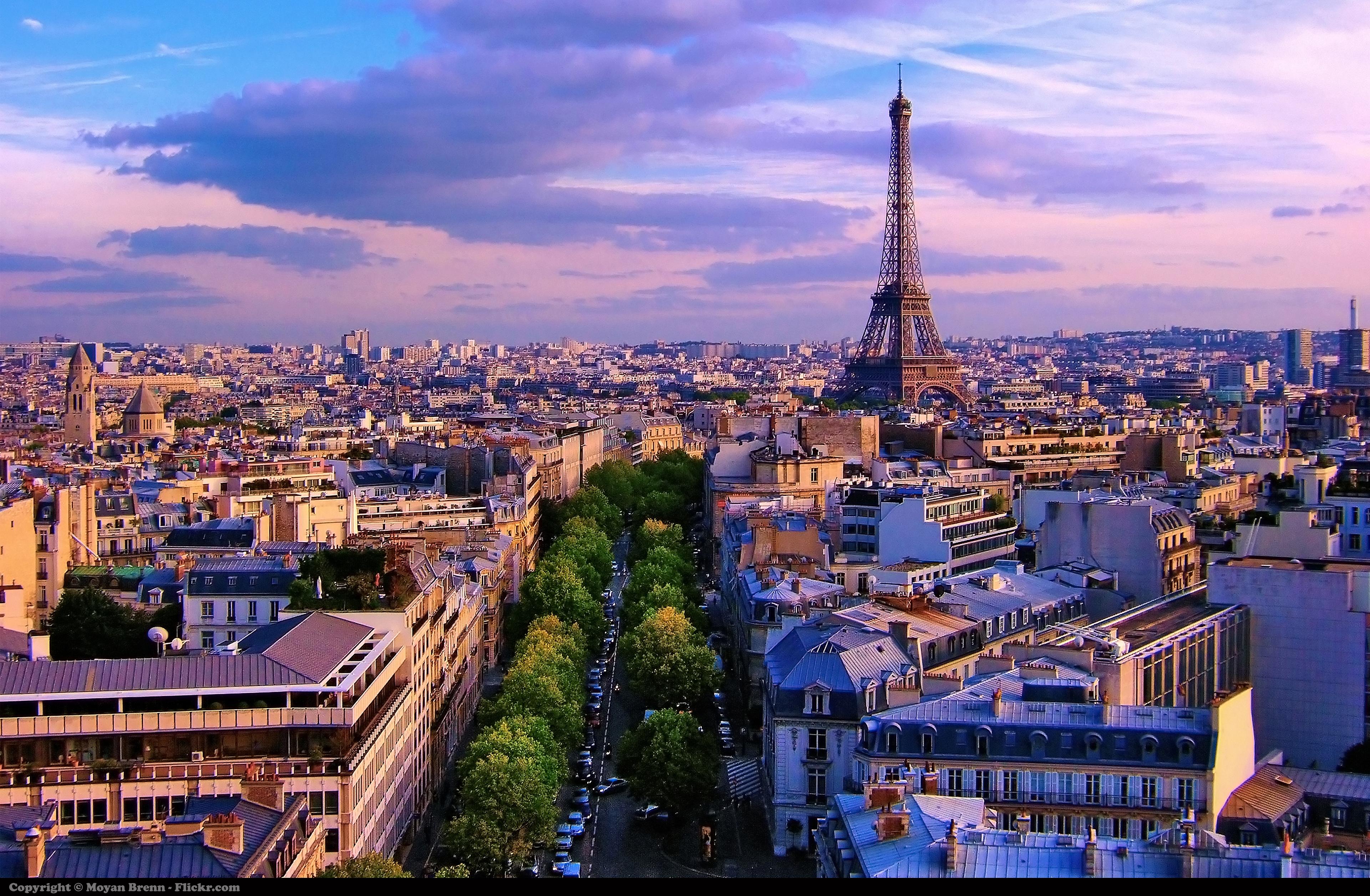 Best scenery at paris
