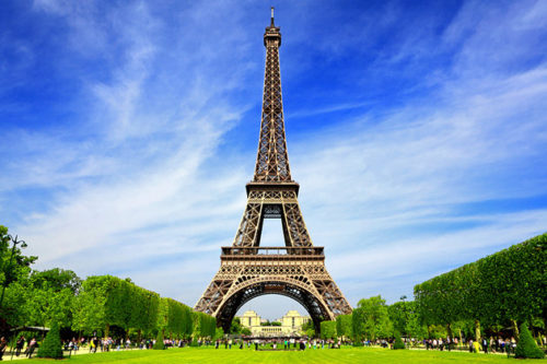Eiffel tower must visited place in paris