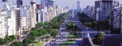 Inside the city of buenos aires