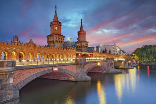 Most famous bridge at berlin