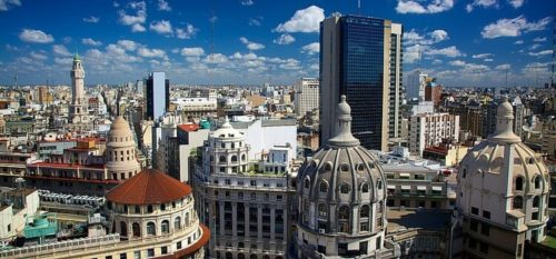 The downtown buenos aires