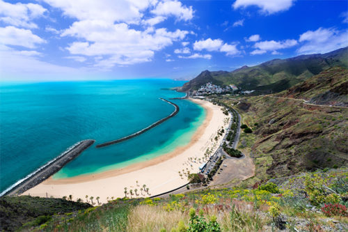 Canary islands wonderful scenery