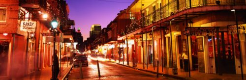 Night life at new orleans