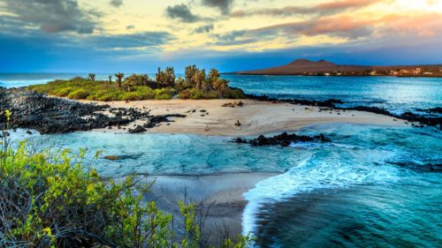 Best scenery at galapagos islands