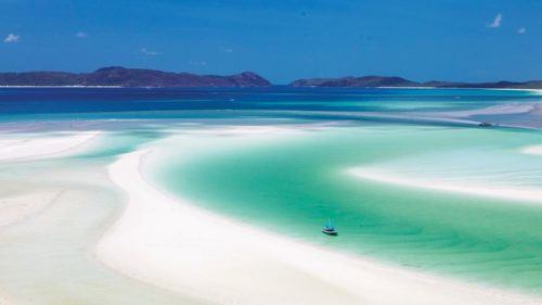 Whitehaven beach the trully heaven