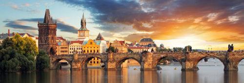 Prague most famous bridge