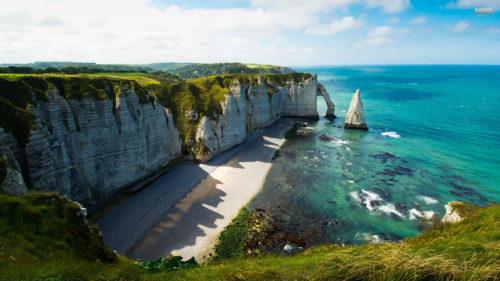 Etretat cliffs must visited place