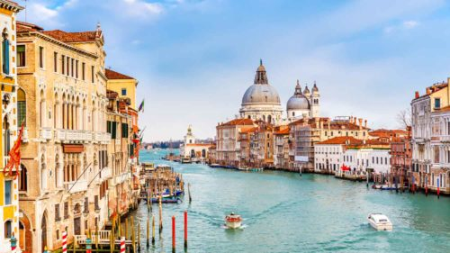 Grand canal italy