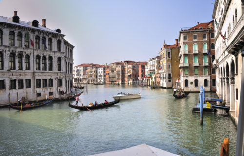 Grand canal italy transportation