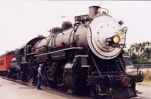 Austin steam train