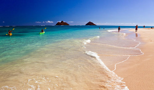 Kailua beach attraction