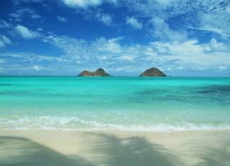 Kailua beach beautiful scenery