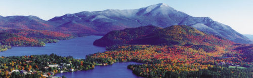 Lake placid panorama