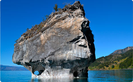 The outside look of capillas de marmol
