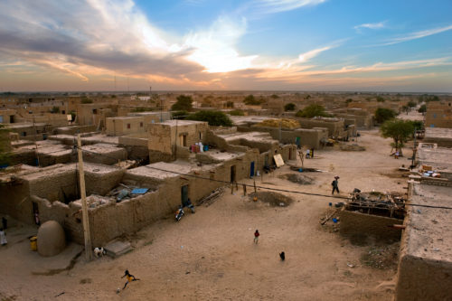 Timbuktu, mali legend: the dwindling population of timbuktu