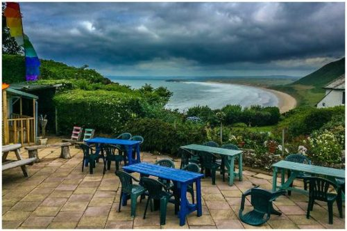 Rhossili bay cafe